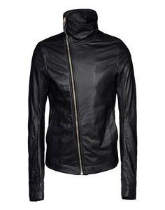 RICK OWENS Motorbike Jackets, Motorcycle Jacket, Leather Jackets, Rick Owens, Men, Beauty, Fashion, Moda, Fashion Styles