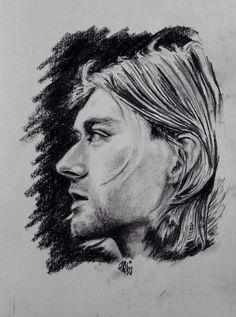 Great Kurtvart Kurt Cobain Art