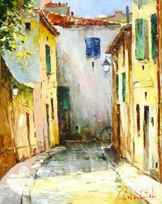 Sort Street (2009) - 31 x 24 Original Oil on Canvas