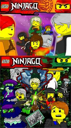 Cole and seliel szukaj w google lego ninjago art - Ninjago phone wallpaper ...