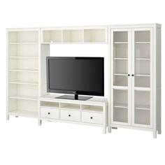 HEMNES TV storage combination - white - IKEA
