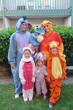 Disney Winnie the Pooh Costumes; Halloween, Eeyore, Tigger, Piglet, Heffalump www.mydisneylove.com