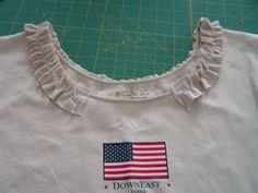 Tea Rose Home: Tutorial~Ruffle shirt~