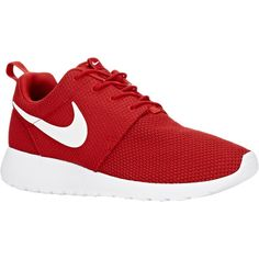 Nike Roshe One Sneakers ($75) ❤ liked on Polyvore featuring shoes, sneakers, nike trainers, nike, nike footwear, nike shoes and nike sneakers