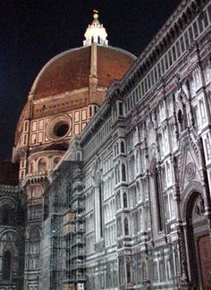 Duomo, Florence, Italy there was a time in my life when I attended class in the very same piazza.