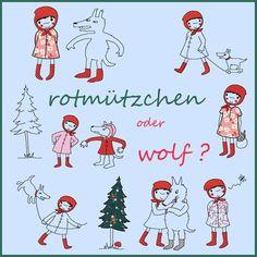 rotmützchen oder wolf?