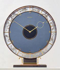 Türler Art Decó ~ Jaeger LeCoultre ~ Zodiac clock 8-Day