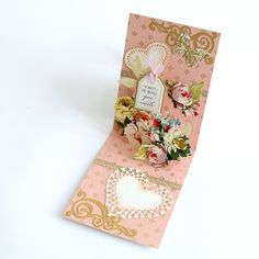 Pop Up Card Dies - 4 pc Standard, Cake and Scroll + 6 Embellishment Dies Heart Template, Butterfly Template, Flower Template, Butterfly Cards, Flip Cards, Pop Up Cards, Butterfly Mobile, Butterfly Dragon, Monarch Butterfly