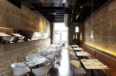 Scarlett Restaurant; SJB Interiors; Australian Design Awards; banquette