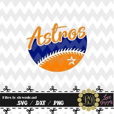 Houston Astros Svg Astros Clipart Houston Astros Dxf