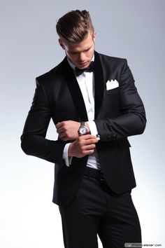 e46d30acdefa Elegant young fashion man Men s Tuxedo Styles