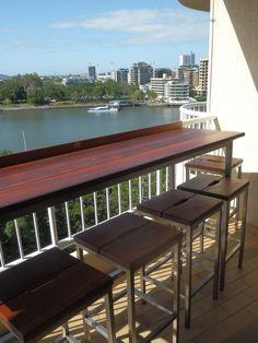 Large Balcony Bar - Australian Garden Furniture Co. (AGFC)