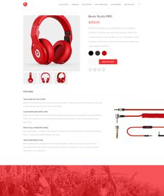 Beats Redesign by Thomas Michel