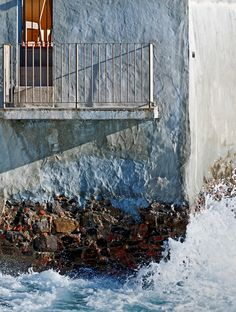 Quaint: Boccadasse, Italy - Terrace over the sea, Letizia Falini