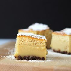 Peanut Butter Cup Magic Cake - Moist, Decadent,  Custard cake.  Oh yummy!