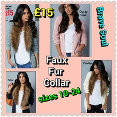 Ask me if your size and colour is in stock. Dusty Pink, Pink Grey, Faux Fur, Fur Coat, Size 10, Internet, Colour, Fashion, Color