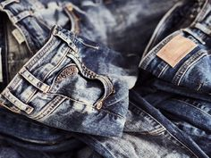 We always twist and turn every single detail to make the MOS MOSH jeans  just right. 28a4879f3cd13
