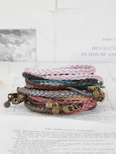 Lenny & Eva Braided Wrap Bracelet. Available at Twisted Goods @ Market Mall only.
