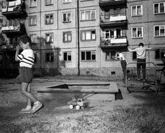 Inner yard in Russia