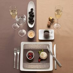 Place setting from Villeroy and Bosch website