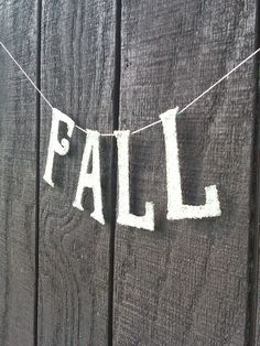 Sale Fall Blessings Fall Banner Fall by thegiftgardenshoppe