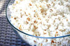 kokos popcorn selber machen