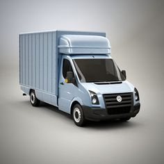 delivery crafter van 3d model