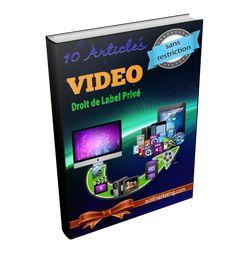 10 articles autour du thème de LA VIDEO avec Licence DLP