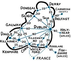 Ireland rail connections