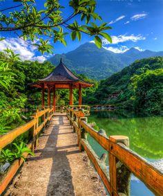 Lovely Ba Vi Park, Hanoi - Vietnam