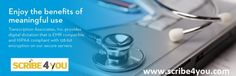 Outsource Transcription Solutions by Hiring Scribe4You Medical transcription and dictation services are gaining quite a lot of popularity these days with more and more medical professionals looking for reliable ways and means to ease overwhelming administrative pressure on them.