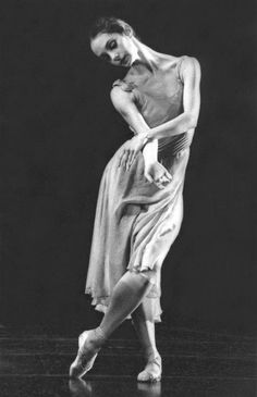 Ballerina, (a personal fave,) Suzanne Farrell... with a pair of the most lyrical arms in the field!