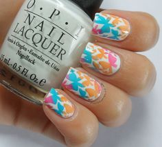 Nail Stories: An Almost Rainbow of Butterflies