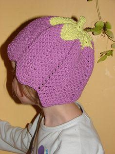 Free Crochet Tulip Hat Pattern.