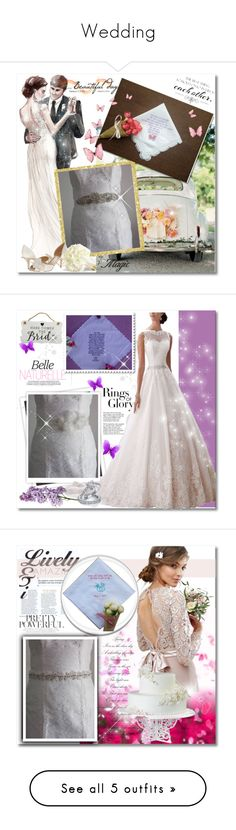"""""""Wedding"""" by mellie-m ❤ liked on Polyvore featuring WALL, Tiffany & Co., New View, Bling Jewelry and TFNC"""