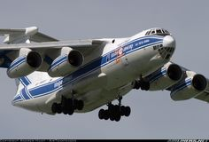 Old but beautiful. One of the rare planes flying in Arctica, Antarctica and africa - Ilyushin Il-76TD-90VD