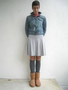 T Shirt Leg Warmers / Dark Charcoal Gray / Boot Liners / Upcycled / Recycled / Girls / Cotton / Stretch / Winter / Gift for Her / ohzie