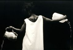 Photography, Lorna Simpson, the Water Bearer 1986.