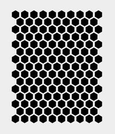 HONEYCOMB BEEHIVE HEXAGON stencil bee stencils template: paint bathroom floor battleship gray or charcoal, stencil faux hex tile in white or cream Geometric Pattern Tattoo, Geometric Mandala Tattoo, Mandala Tattoo Design, Pattern Tattoos, Abstract Pattern, Bee Stencil, Stencils, Nordic Pattern, Viking Pattern
