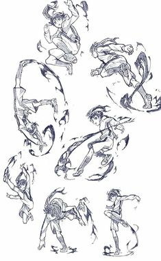 Drawing Trendy Drawing Poses Reference Fighting 36 Ideas You may decide to bring old furniture from Action Pose Reference, Body Reference Drawing, Drawing Reference Poses, Drawing Poses, Manga Drawing, Drawing Tips, Anatomy Reference, Sketch Poses, Female Drawing