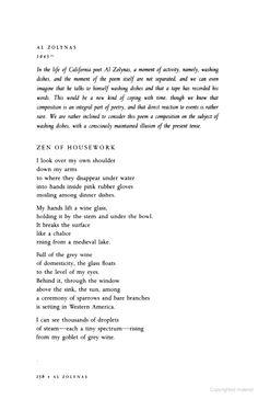 """Al Zolynas, """"The Zen of Housework."""" Part 1"""