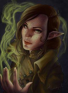 Dragon age - Inquisitor Lavellan