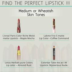 #lipsticks #nudelipstics #shadesoflipstick #lipstickshades #colours #beautifullips #makeup #beauty #beautiful #lakme #colorbar #loreal #bonjour