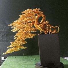 Buy Bonsai Tree, Enchanted Tree, Two Trees, Wire Trees, Viking Jewelry, Wire Art, Ikebana, Crystal Ball, Wire Wrapping