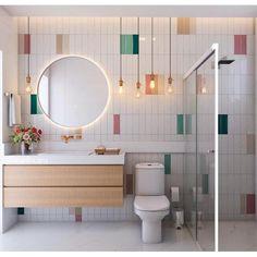Bathroom Decoration Ideas 34 Beautiful Bathroom Color Scheme Ideas for Small & Master Bathroom – hou Bad Inspiration, Bathroom Inspiration, Beautiful Bathrooms, Modern Bathroom, Master Bathroom, Bathroom Kids, Bathroom Interior Design, Interior Design Living Room, Design Hall