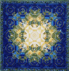 blue kaleidoscope by ginhollow... just gorgeous - it appears to glow!