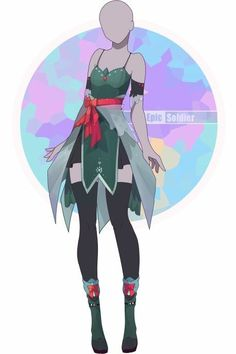 I love this! It's so pretty and stylish, and it gives me ideas for a character design I've been struggling with for awhile now... Made by Epic Solider on DA