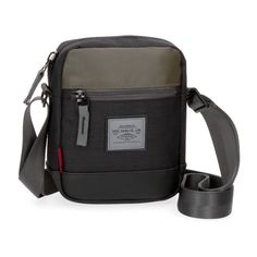 Bandolera Pepe Jeans Brand pequeña Crossbody Bags For Travel, Backpack Bags, Travel Bags, Shoulder Sling, Athleisure Outfits, Black Cross Body Bag, Pepe Jeans, Backpacks, Leather