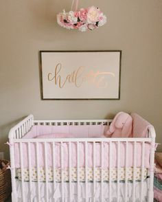 nursery • floral mobile • linens and lace shop