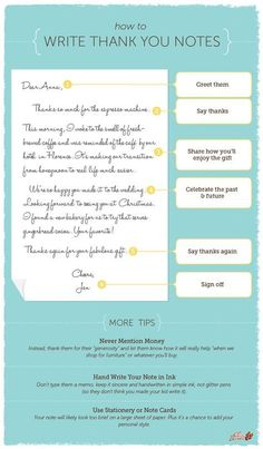 Wedding Gifts 6 simple steps for how to write the perfect thank you note, great for after your wedding, birthday, or graduation - Don't send that thank you note . until you check out these simple and savvy tips. Writing Thank You Cards, Thank You Letter, Thank You Note Wording, Wedding Thank You Cards Wording, Thank You Note Template, Wedding Invitations, Wedding Favors, Wedding Gifts, Before Wedding
